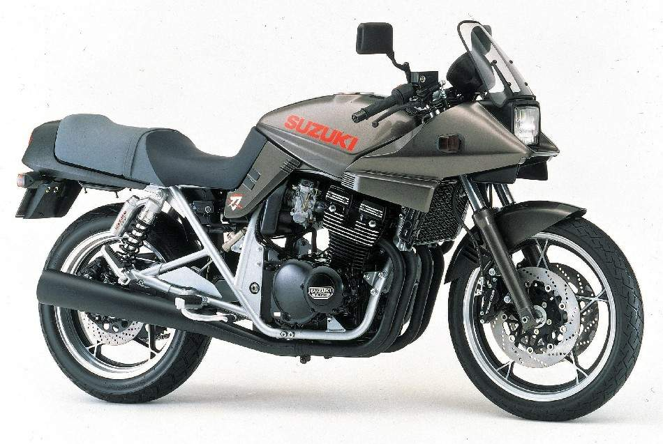 Suzuki GSX 400S Katana technical specifications